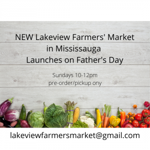 Lakeview Farmers' Market Advertizement